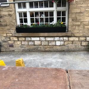 Stonework Repair Complete